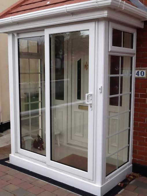UPVC A-rated Porch