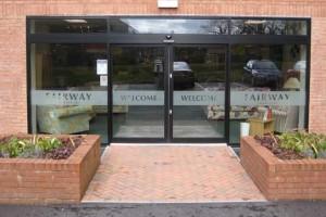 commercial aluminium doors Dublin
